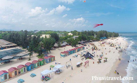 du lịch coco beach