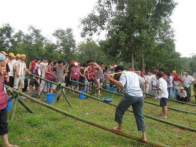 Team Building ở Langbiang