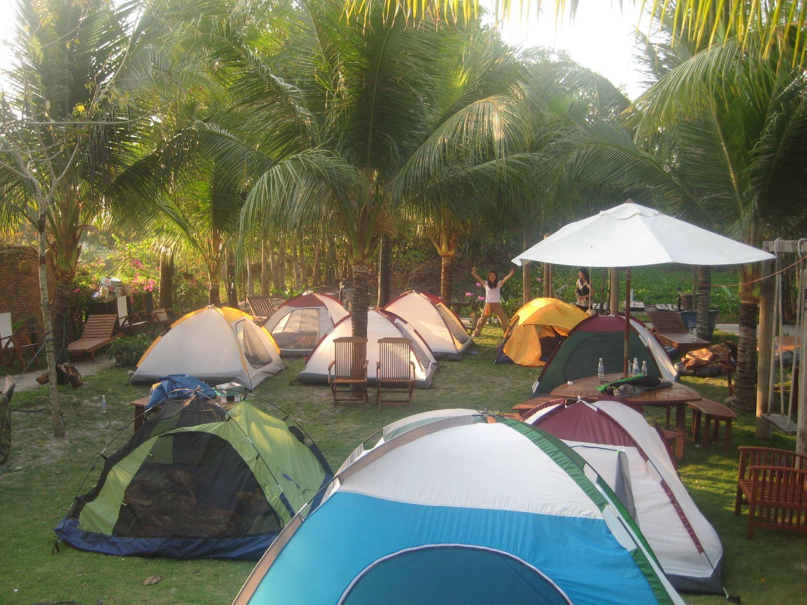 Lều Tại Cam Bình Resort - Du Lịch Biển Cam Bình